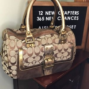 Vintage Coach Limited Edition Fall 04' Satchel